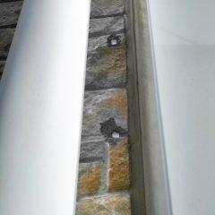 外壁のボルト穴補修 画像