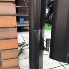 門柱の曲がり補修 画像