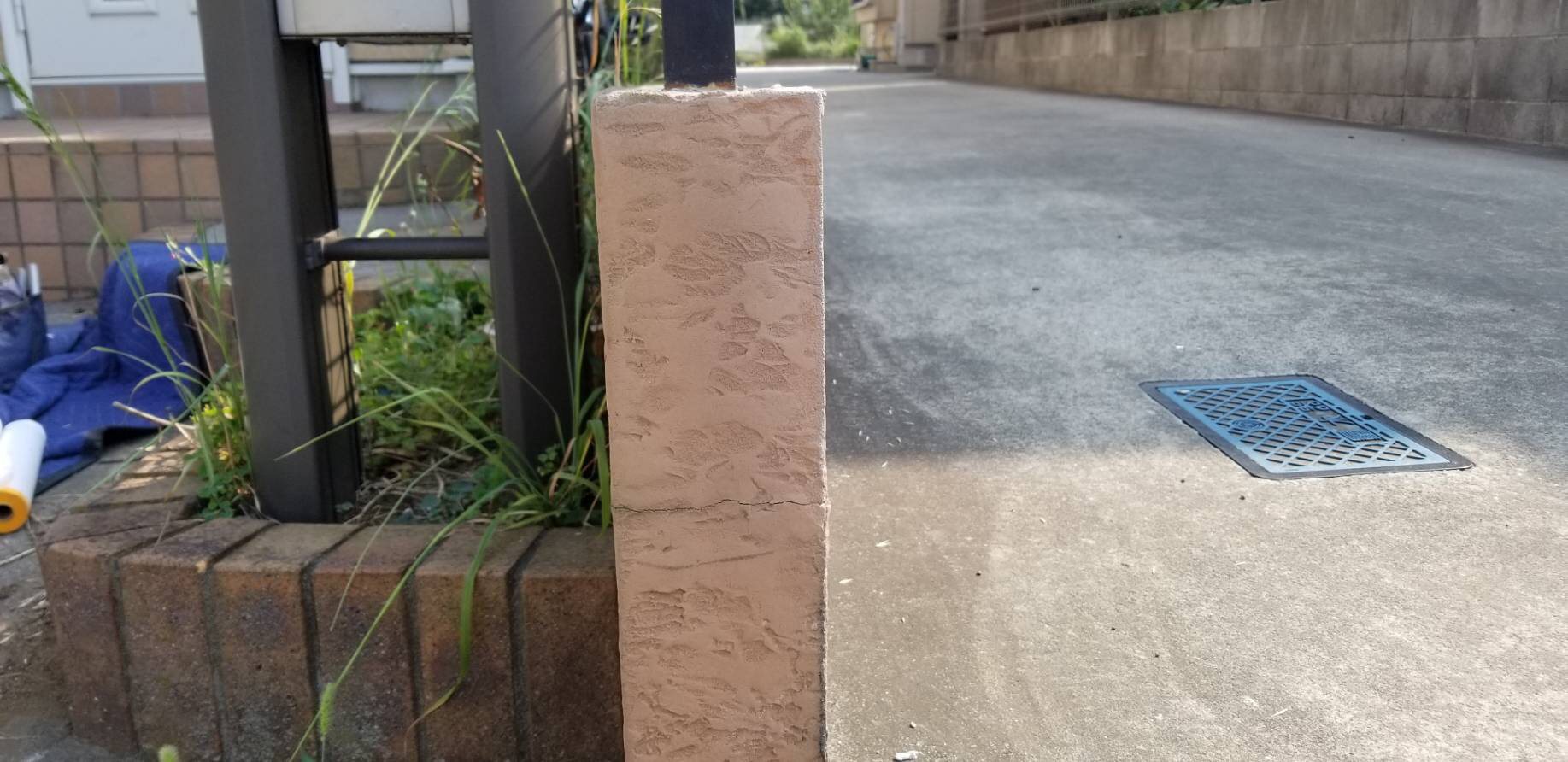 外壁ブロック補修 施工後 画像